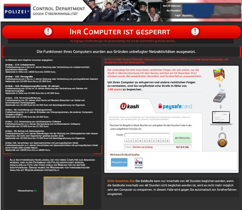 Control Department Gegen Cyberkriminalität