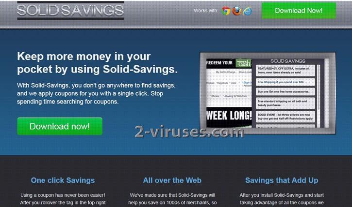 Solid Savings Adware