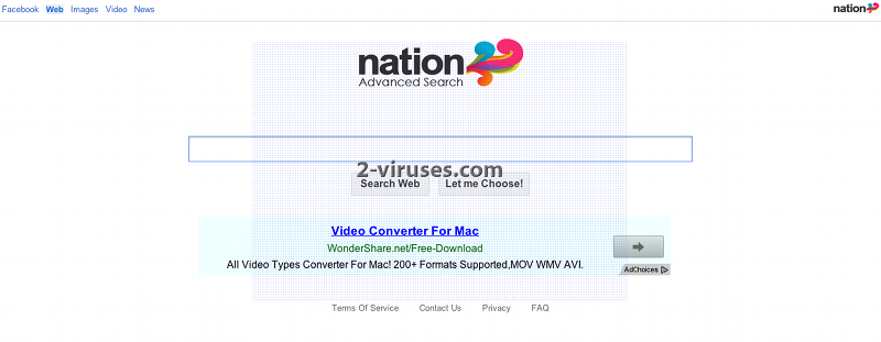 Nation Advanced Search Virus
