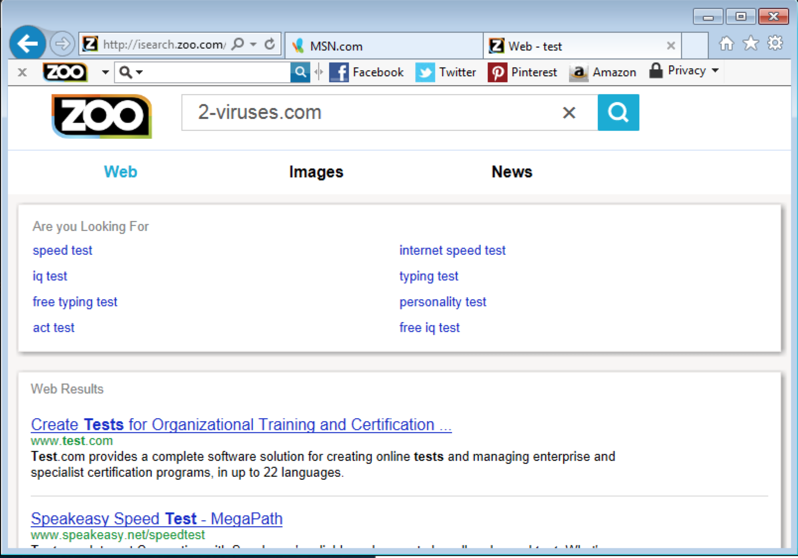 Isearch.zoo.com Virus