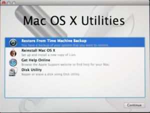 Wie man einen Mac auf ein früheres Datum zurücksetzt