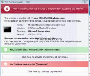 Mehrnamige Rogueware 2014