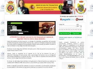 Spanish Police Virus