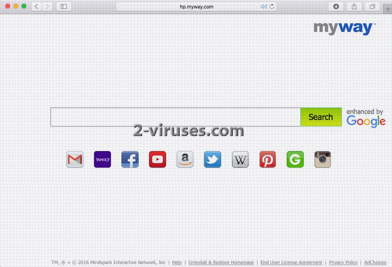 Hp.myway.com Virus