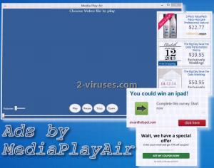 Anzeigen von MediaPlayAir