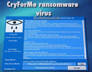 Der CryForMe-Virus