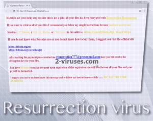 Der Resurrection virus