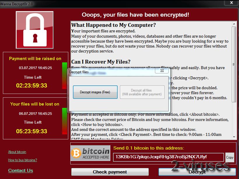 FakeCry ransomware virus