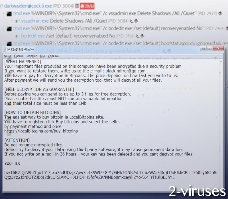 BTCWare Aleta Virus