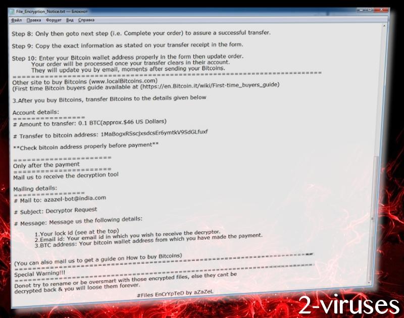 aZaZeL-Virus