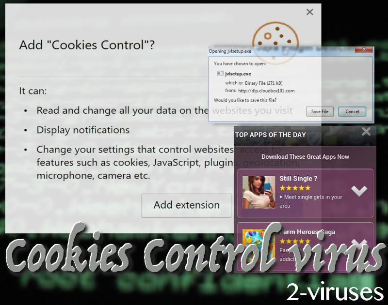Cookies Control virus
