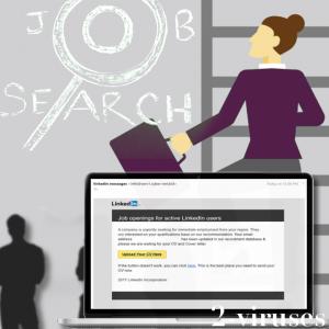 Schiefgelaufene Arbeitssuche: gefährliche E-Mails von Linkedin