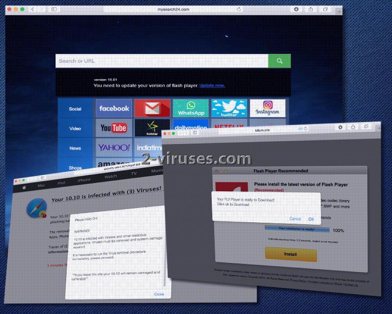 Mysearch24.com-Virus