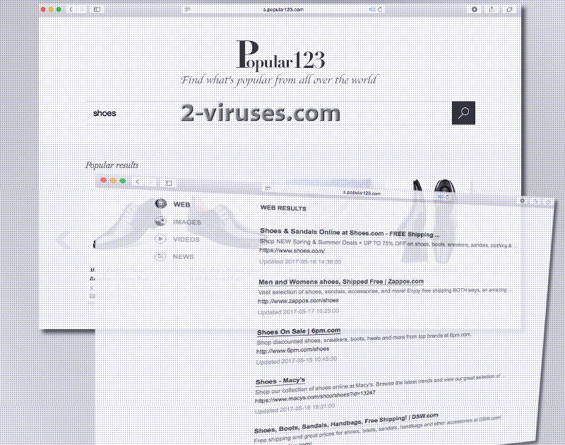 Der Popular123.com Virus