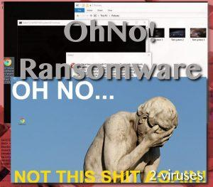 Ransomware-Virus OhNo!