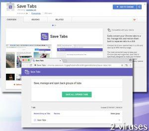 Save Tabs Ads