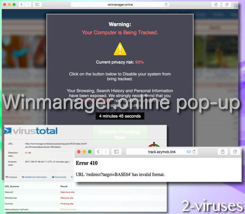 Winmanager.online-Pop-up