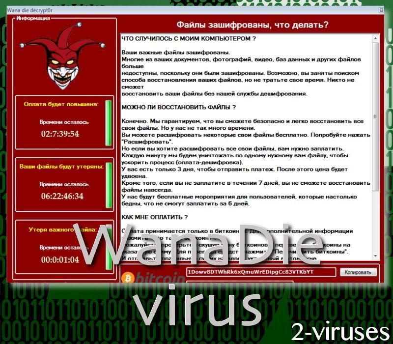 WanaDie ransomware