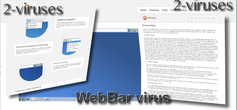 WebBar virus remove