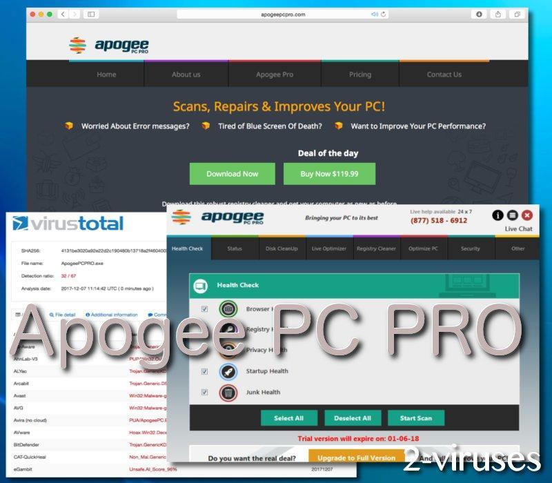 Apogee PC PRO unwanted program