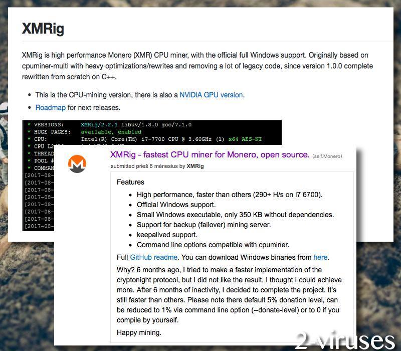 XMRig Miner Trojaner - Wie man es entfernt! - sicherpc net