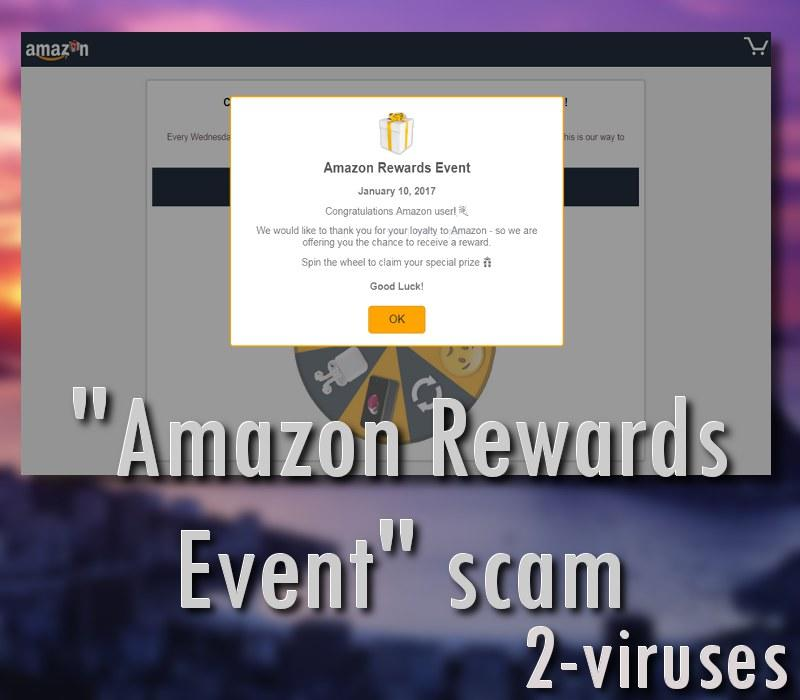 """Amazon Rewards Event""-Scam"