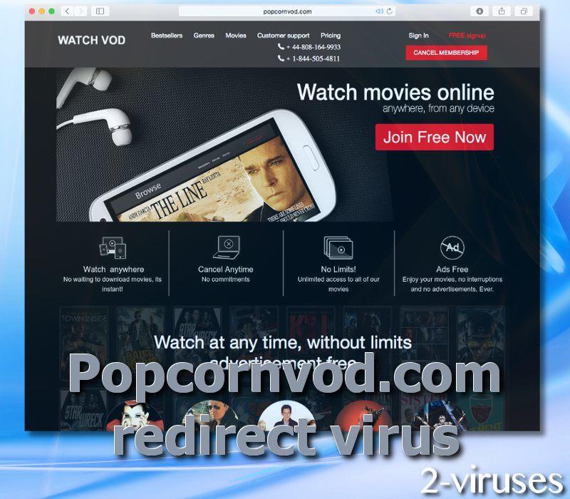 Popcornvod.com virus