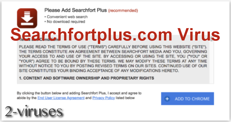 Searchfortplus.com virus remove