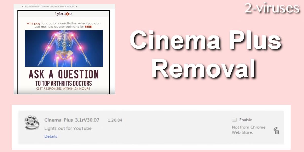 Cinema Plus remove