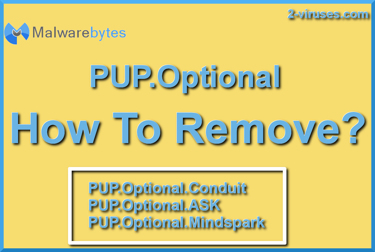 PUP Optional remove