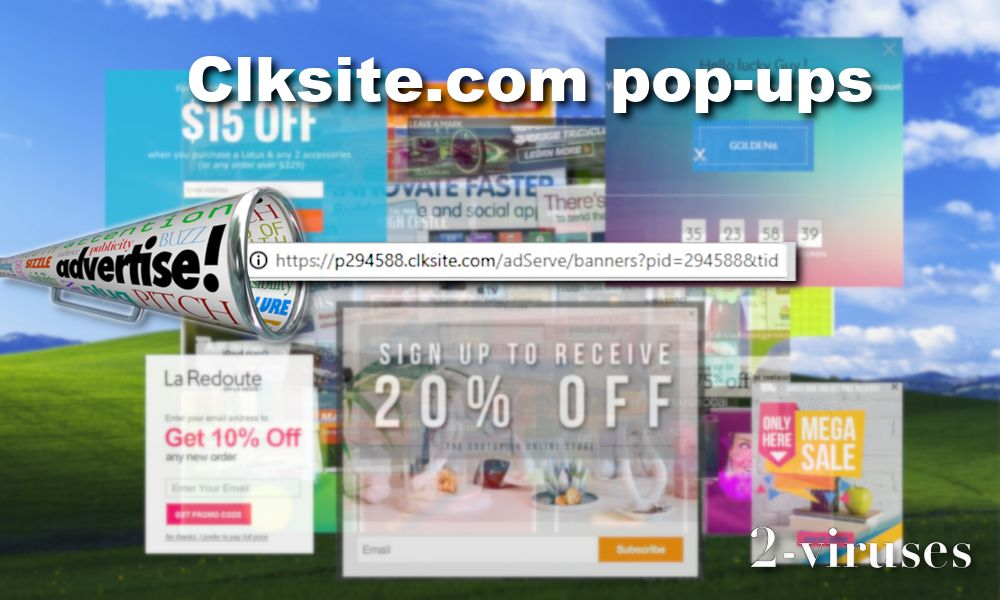 clksite popup main site
