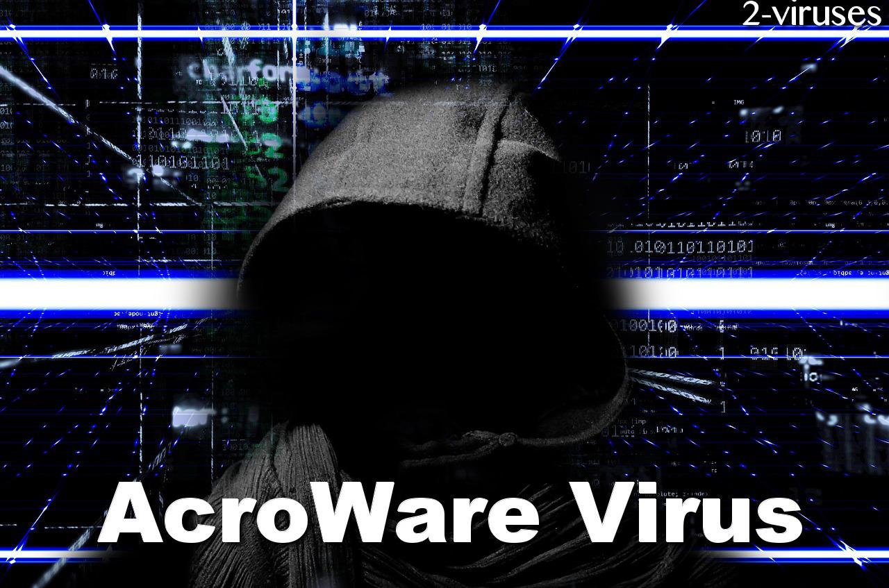 AcroWare Virus remove