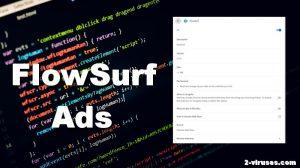 Werbung von FlowSurf