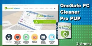 PUP: OneSafe PC Cleaner Pro