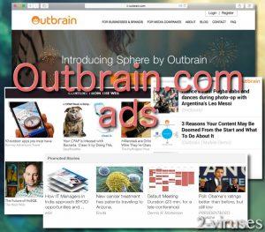Reklame von Outbrain.com