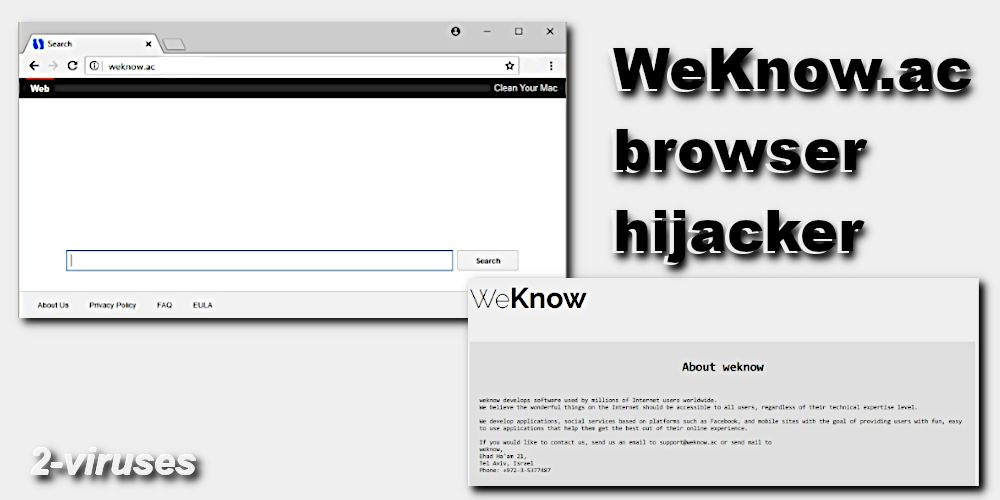 weknow,ac browser hijacker virus
