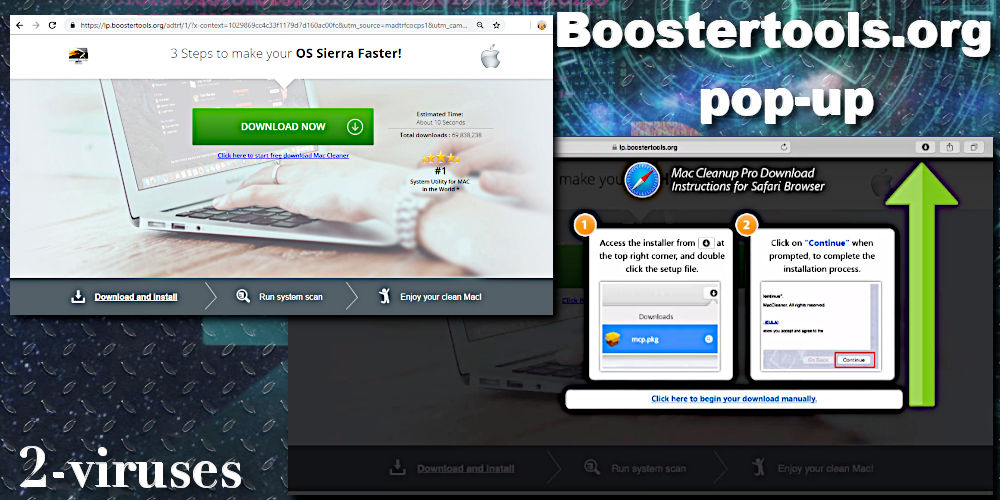 Boostertools.org pop-up virus mac cleanup pro