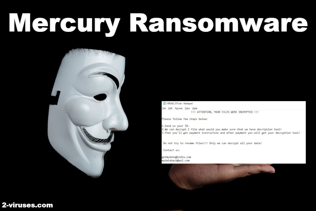 Mercury Ransomware removal