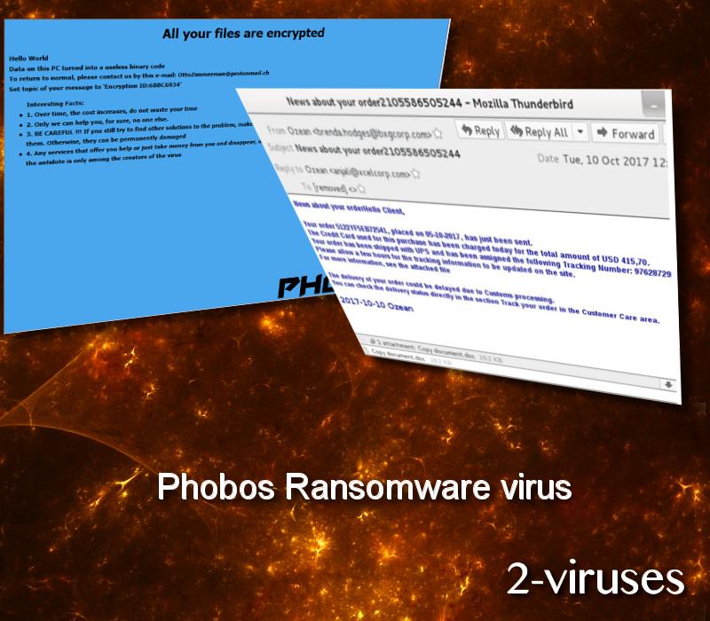 Phobos Ransomware-Virus