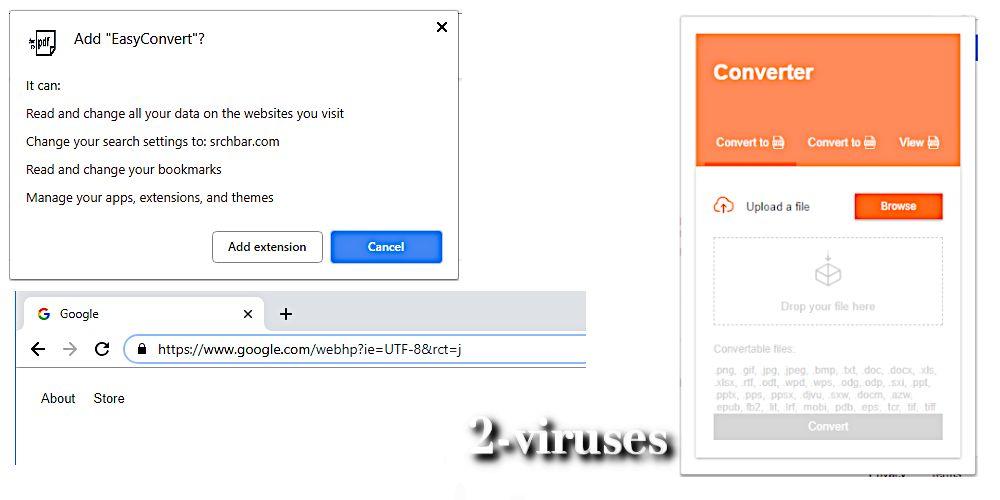 easyconvert add to chrome google redirect