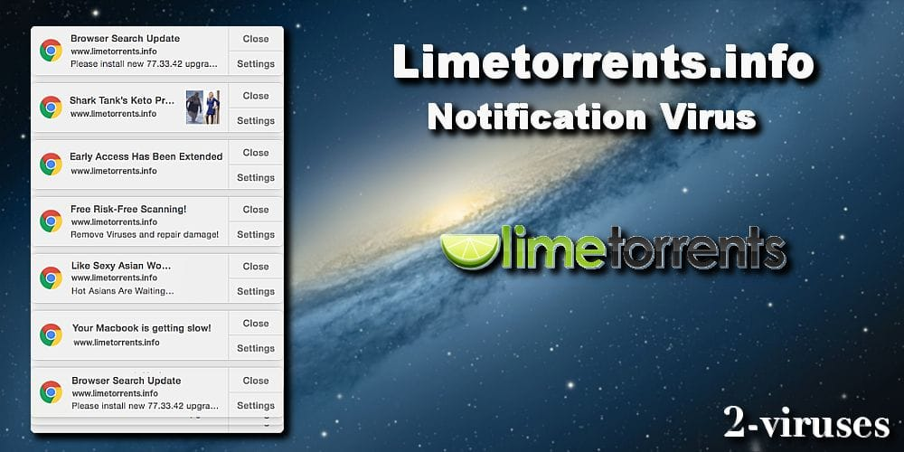 Limetorrents.info Pop-ups