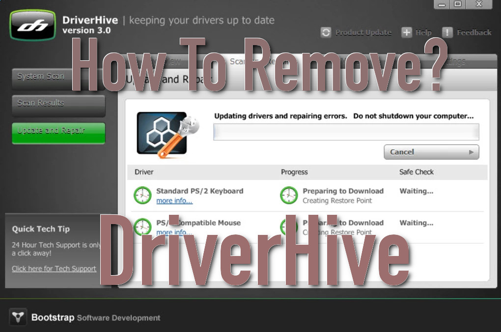driverhive removal