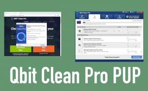 Qbit Clean Pro PUP