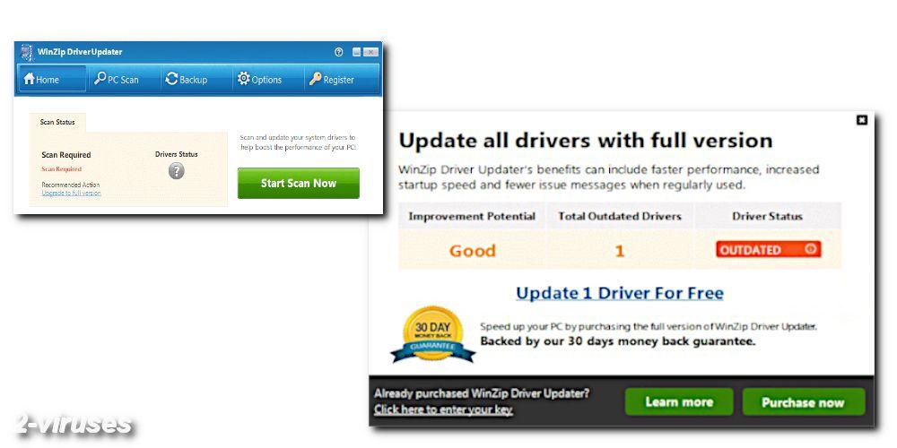 winzip driver updater installation