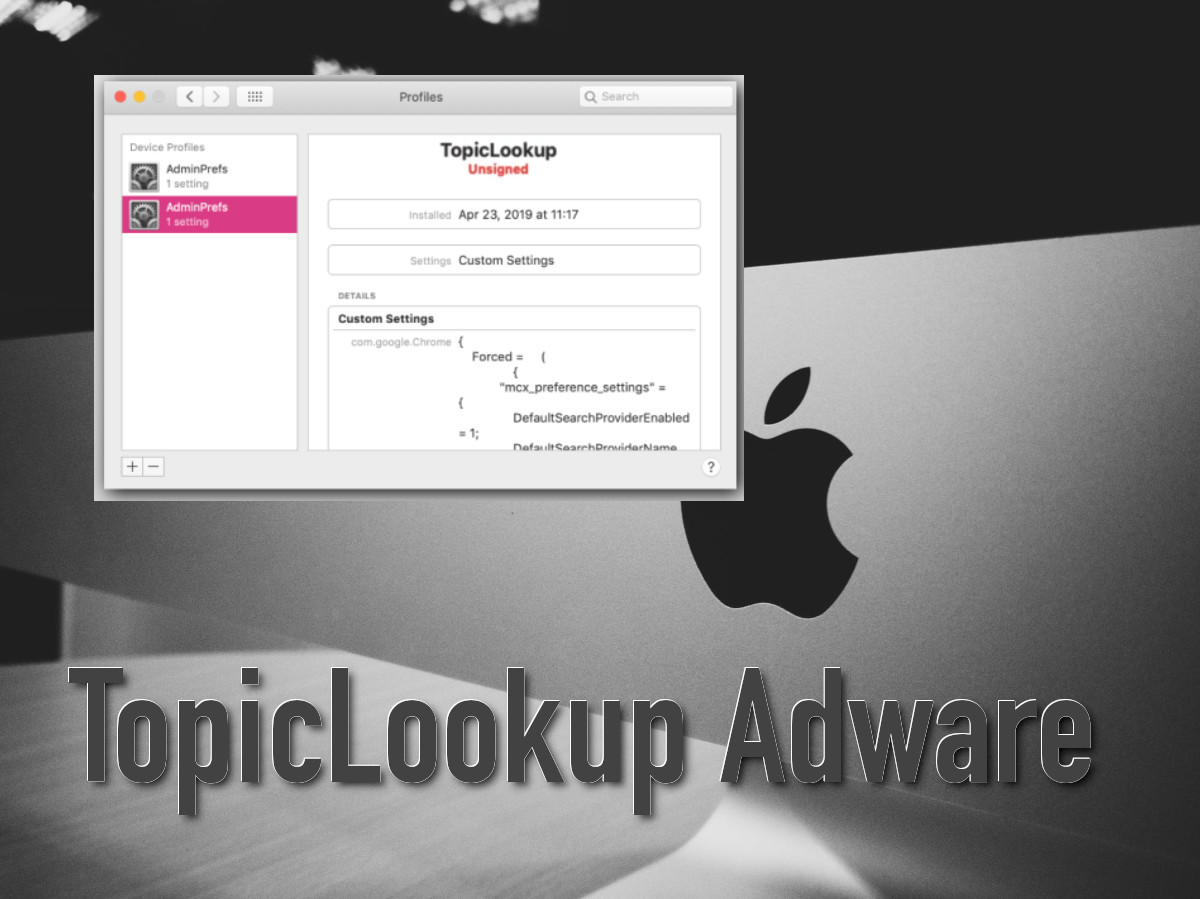 Adware: TopicLookup