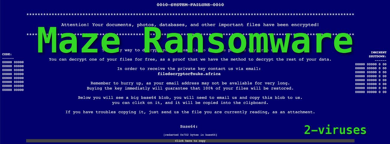Maze-Ransomware