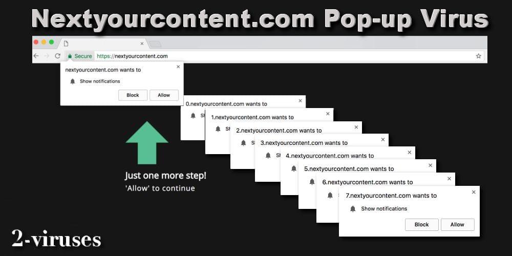 Pop-up-Virus: Nextyourcontent.com