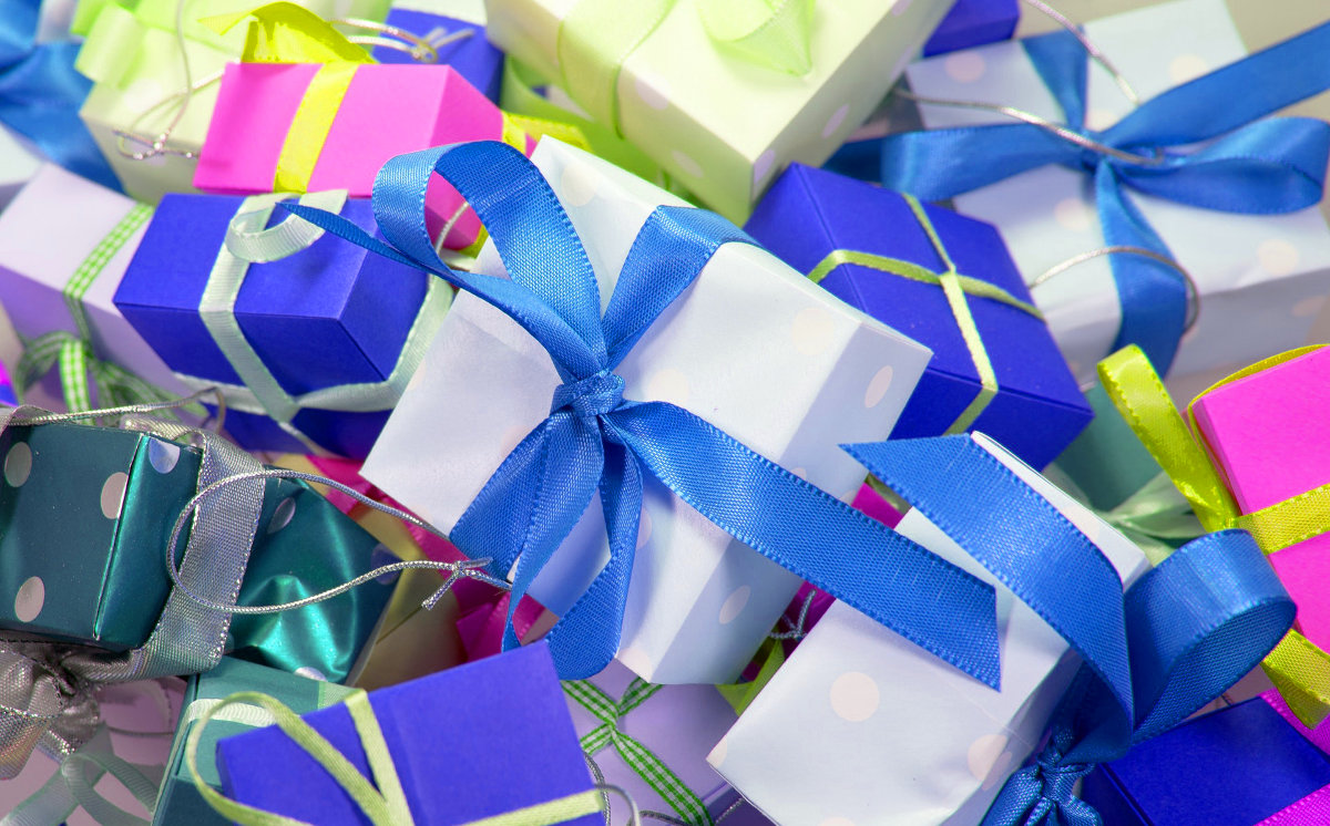 stock picture of gifts