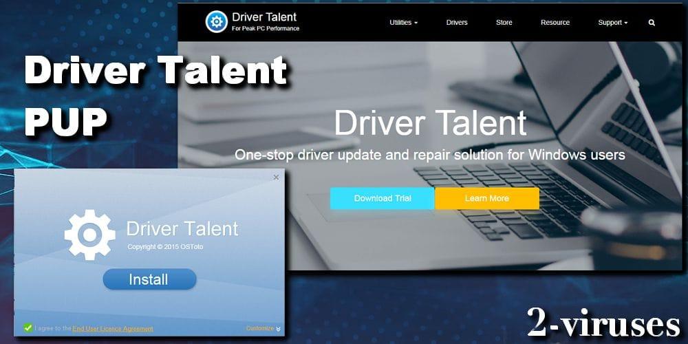 Driver Talent PUP